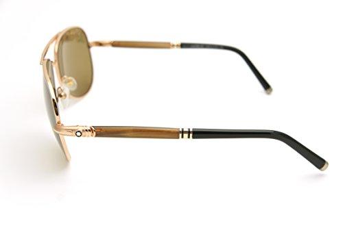 1c4177df49 ... Blanc Authenticity 519S 519 S 28M Gold Brown  Polarized Aviator  Sunglasses 61mm-14mm-140mm. gallery desc. 41GsvfoaWZL-1-1. 31lgHxpHhUL-1.  31X2ReYSsGL-1