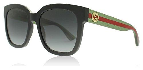 0b103025c3d Gucci 0034S 002 Black 0034S Square Sunglasses Lens Category 3 Size ...